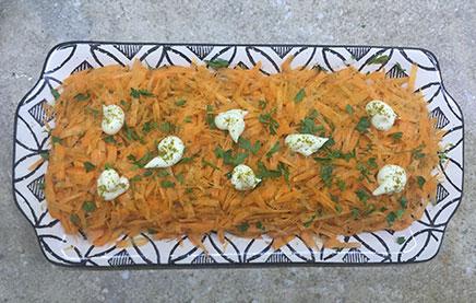 Салат лисья шубка с горбушей