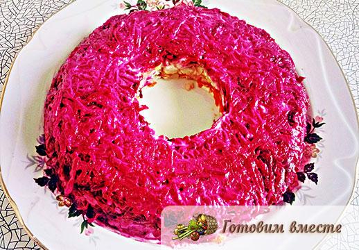 Салат под шубой вкусный рецепт с пошагово в