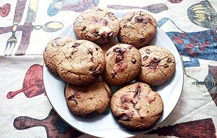 американские печеньки с шоколадом рецепт
