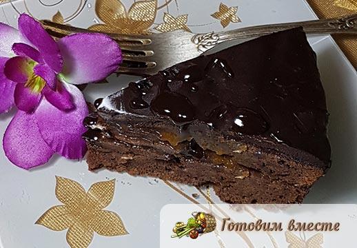 торт захер готов приятного аппетита