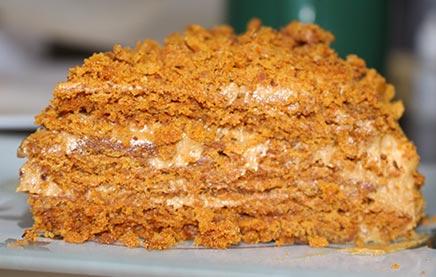 Как приготовить торт рыжик в домашних условиях
