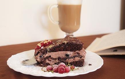 Как приготовить торт чёрный принц рецепт с фото